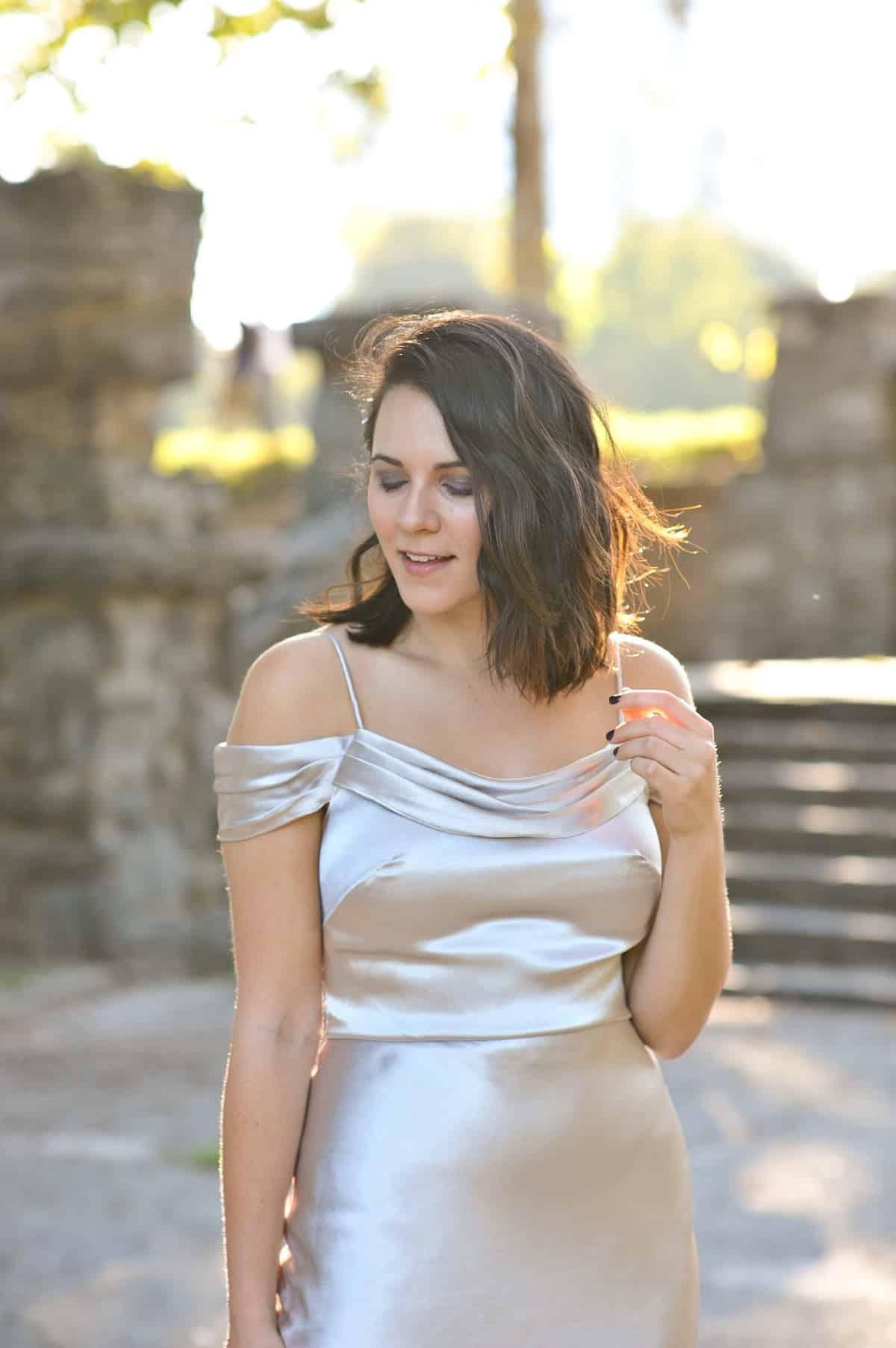 Bhldn sabine holiday dress, holiday wedding dress ideas via @mystylevita
