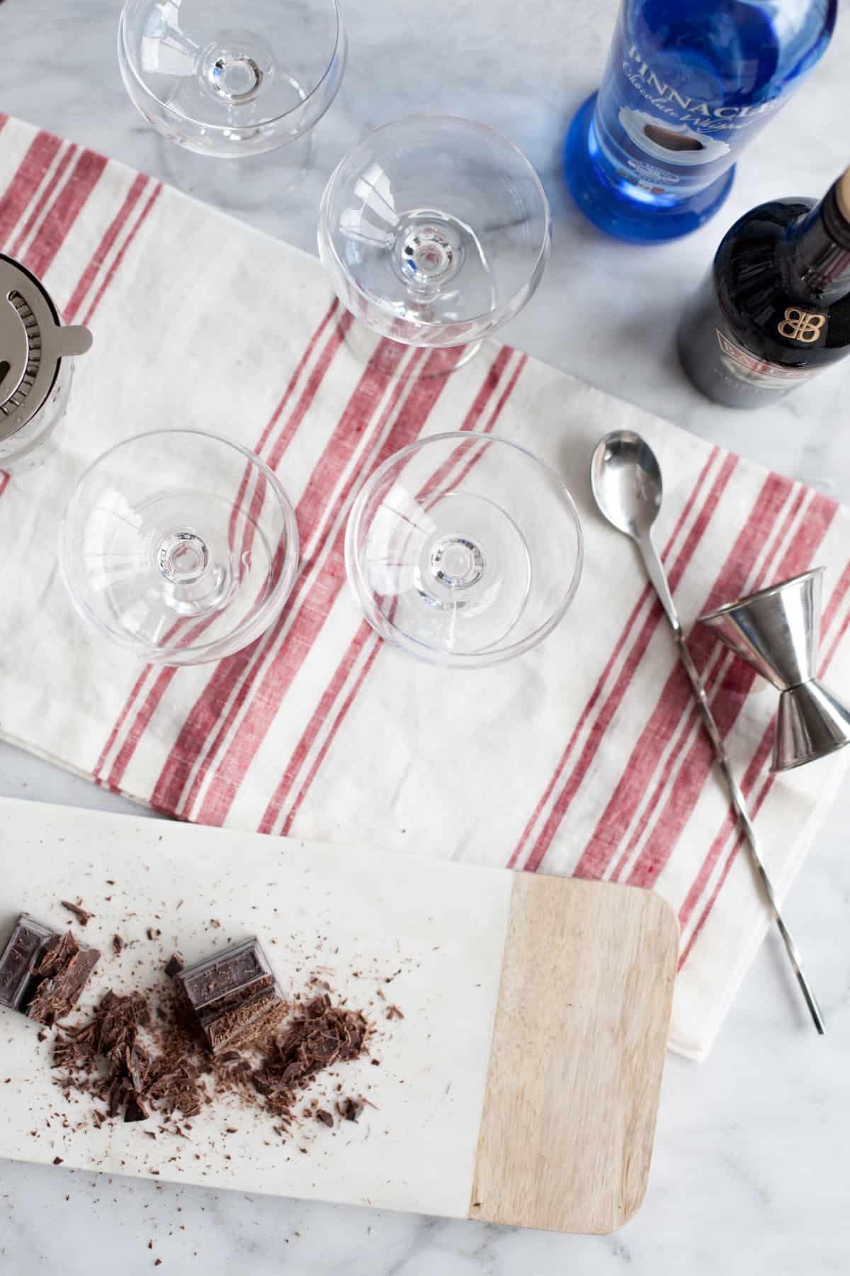 Classic Chocolate Martini Recipe via @mystylevita