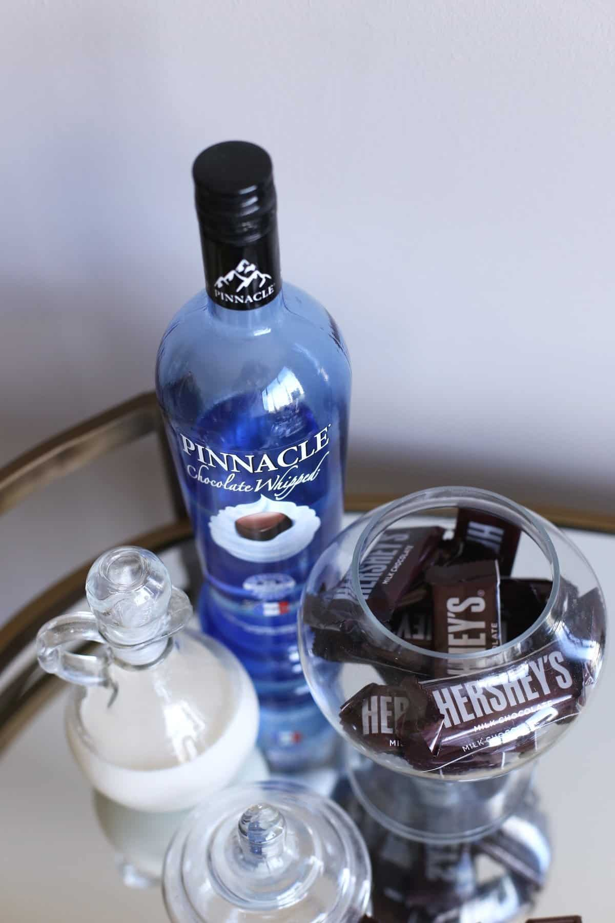 chocolate whipped pinnacle cocktail recipe, chocolate cocktail ideas - @mystylevita