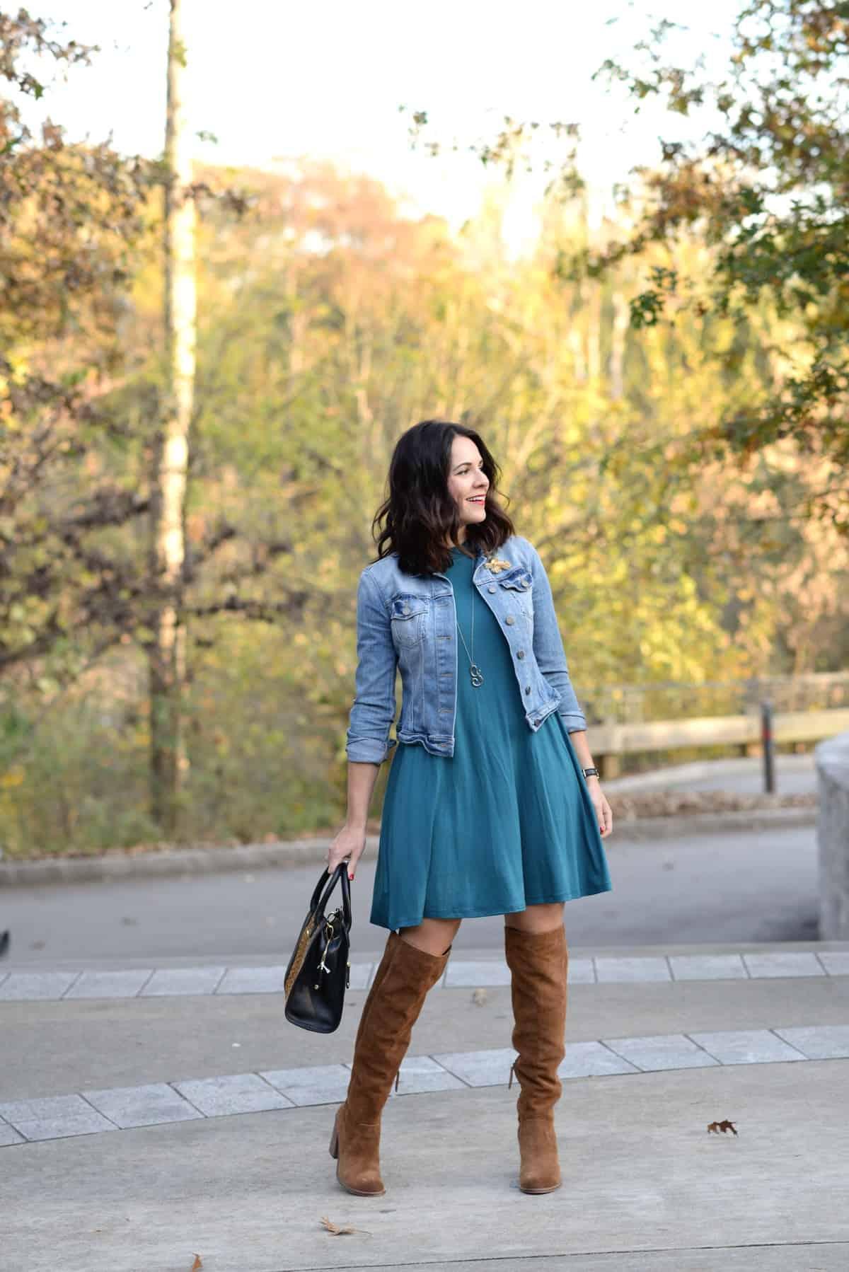 l.mae swing dress, fall outfit ideas - @mystylevita