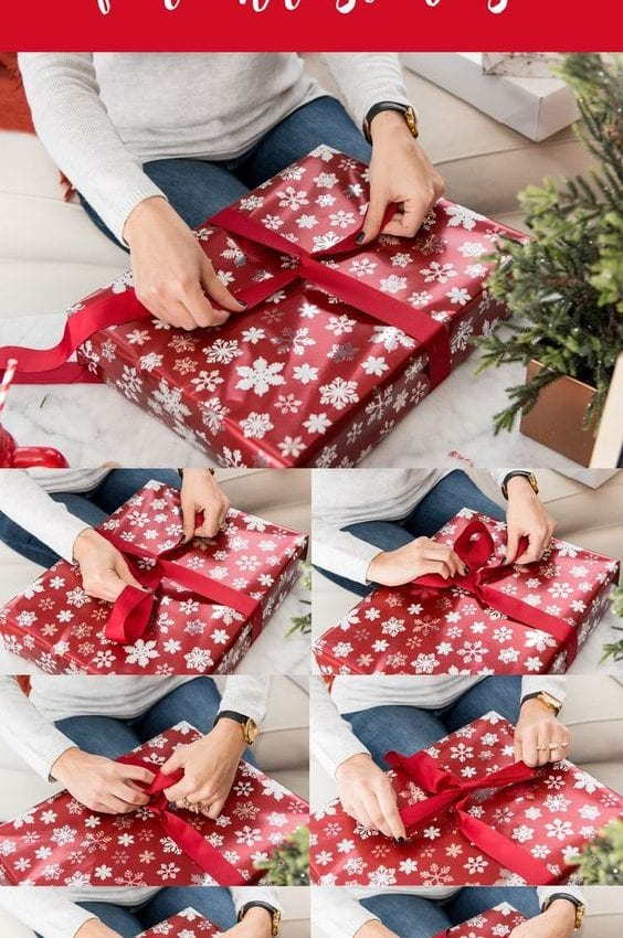 How To Tie A Bow For Christmas - bow #tutorial #holidays #christmas @mystylevita