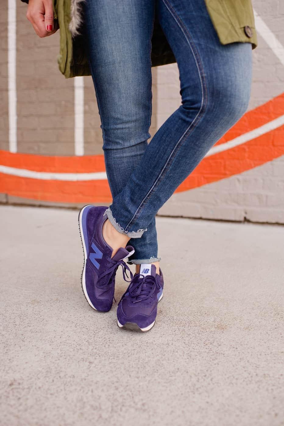 J. Crew Navy New Balance Sneakers For Women - @mystylevita