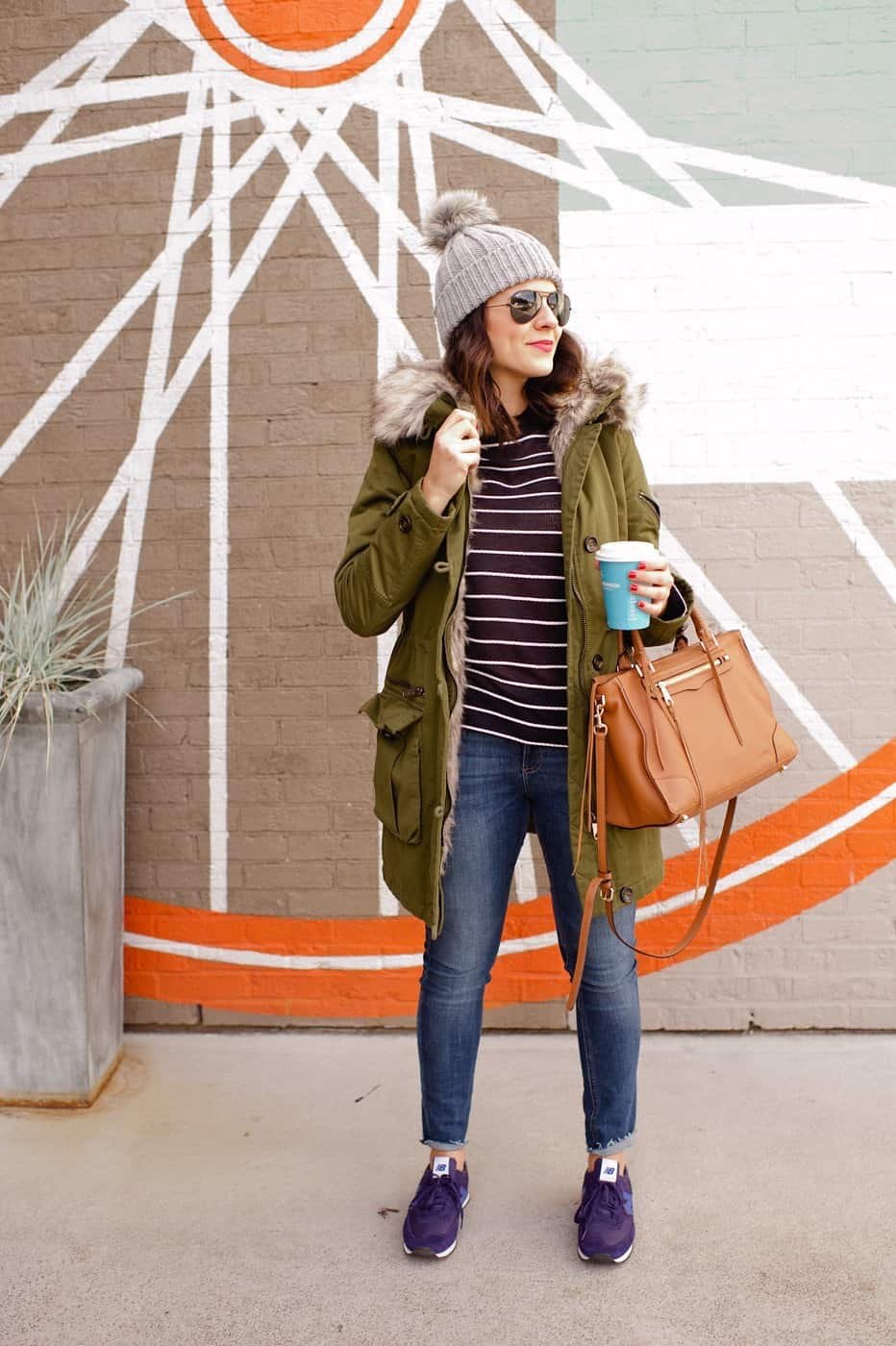 Topshop Parka and beanie outfit - @mystylevita