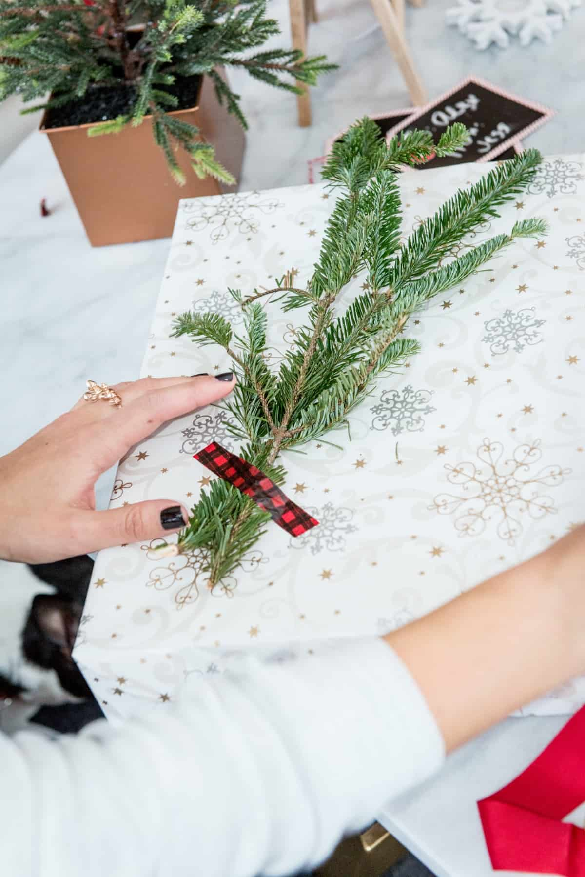 gift wrap ideas for christmas, holiday gift wrap - @mystylevita