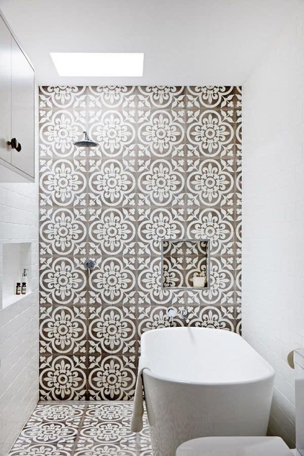 bold bathroom tiles