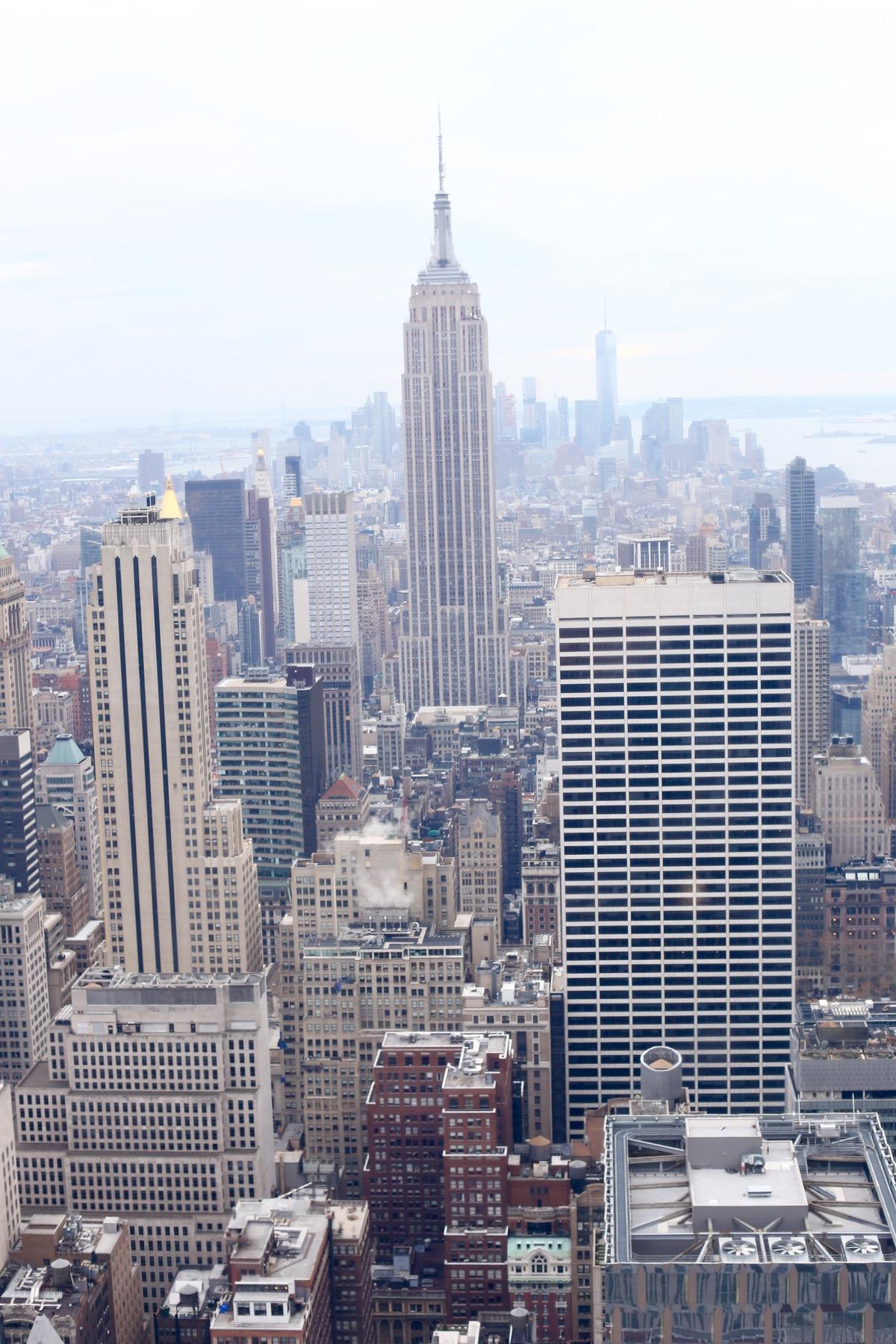 new york city skyline, top of the rock - @mystylevita - 1