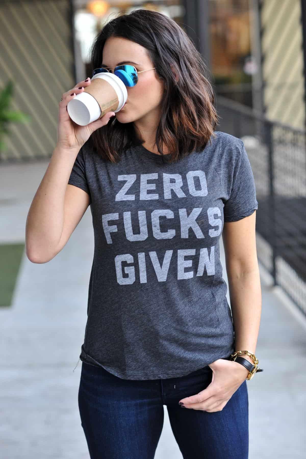 zero fucks given tee - @mystylevita