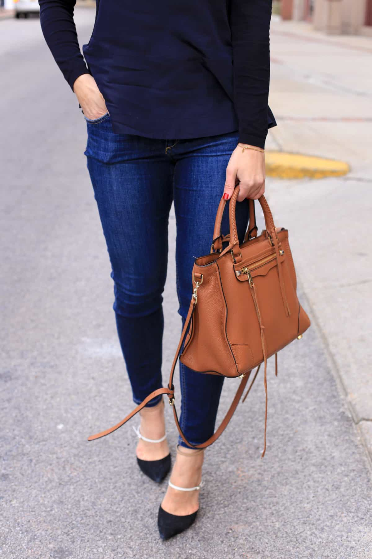 My Style Vita outfit - Jeans and Cos top with high heels - @mystylevita