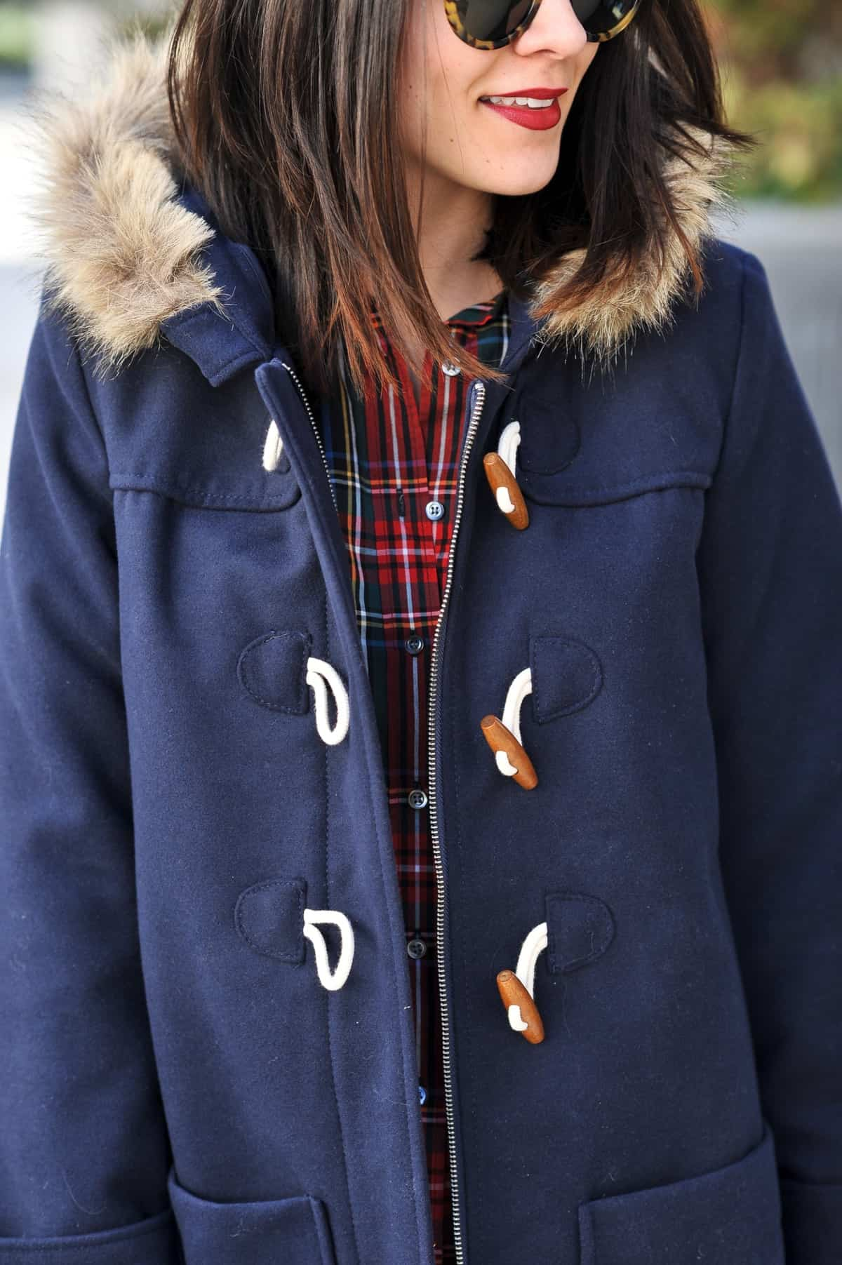 Old Navy Toggle Coat and Over The Knee Boots - @mystylevita