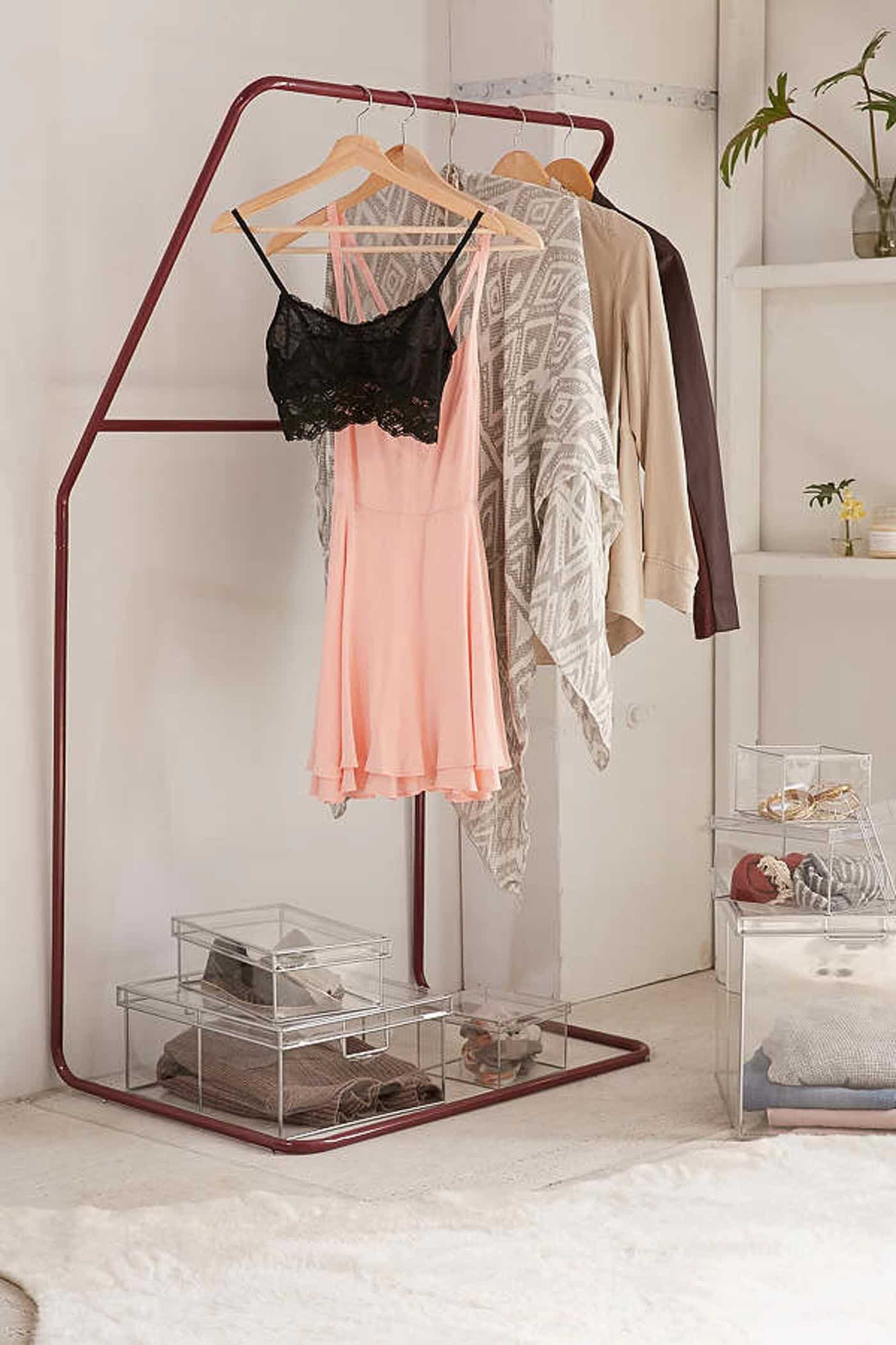 Alternative ways to store clothes