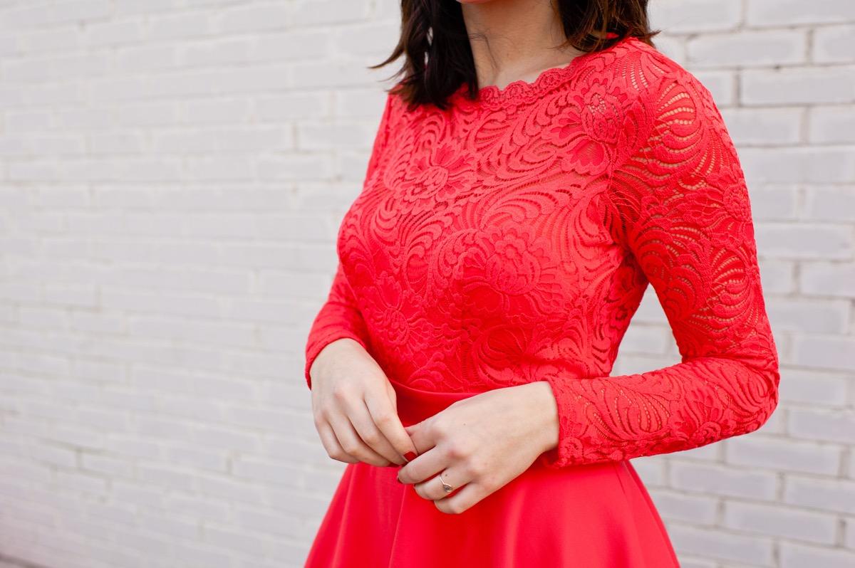 Valentine's Day outfit ideas - bebe dress - @mystylevita