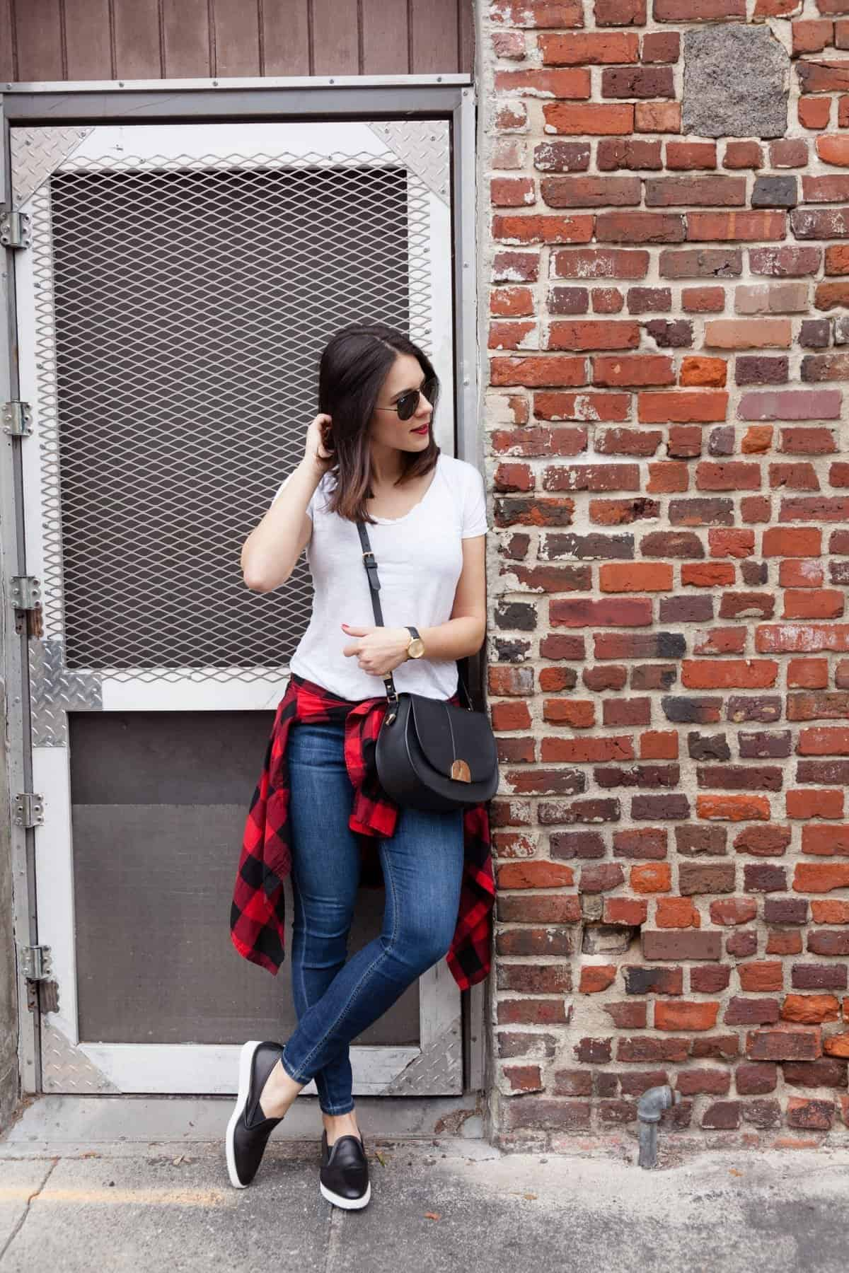 buffalo plaid outfit ideas  - @mystylevita