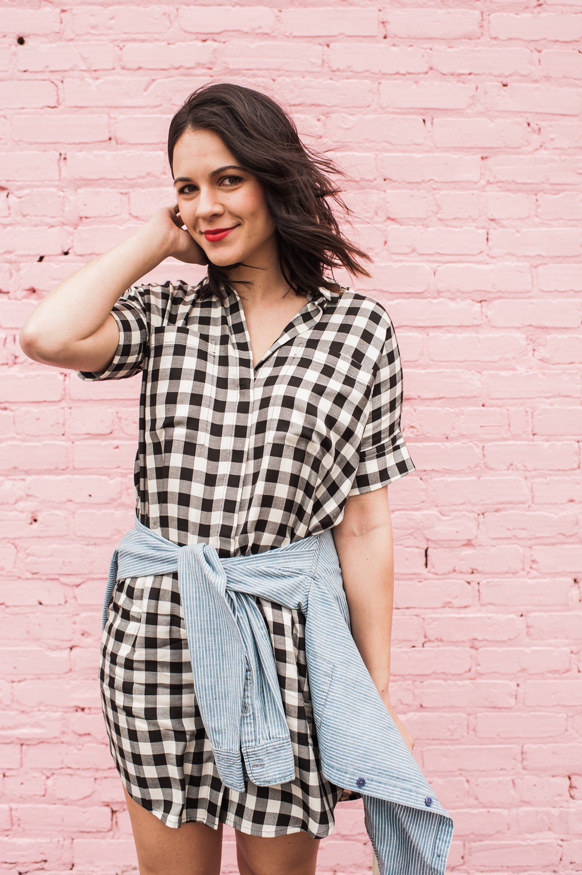 Gingham Madewell Dress, fashion blog, outfit ideas - @mystylevita