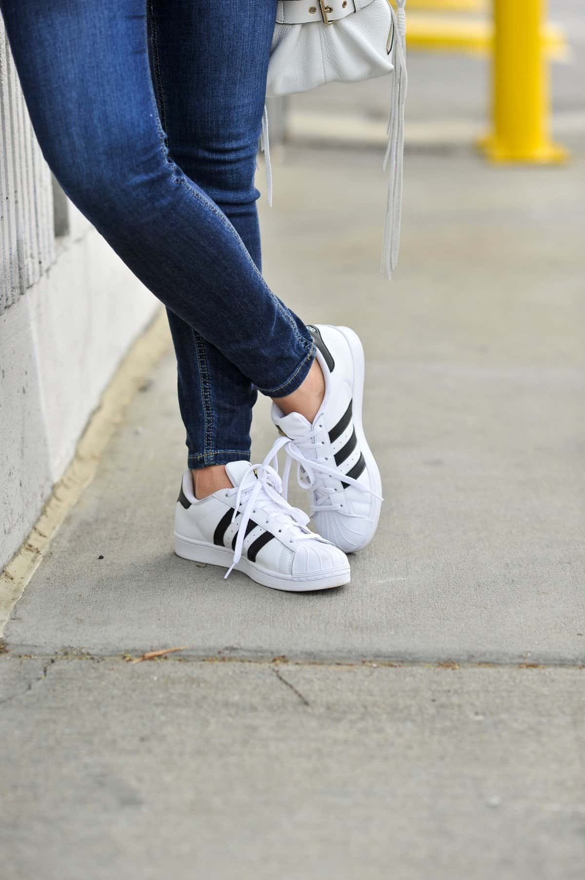 how to style adidas superstars, Adidas superstars with jeans - My Style Vita
