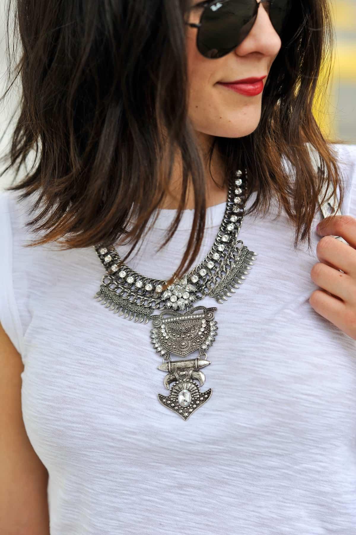 Statement Baublebar necklace