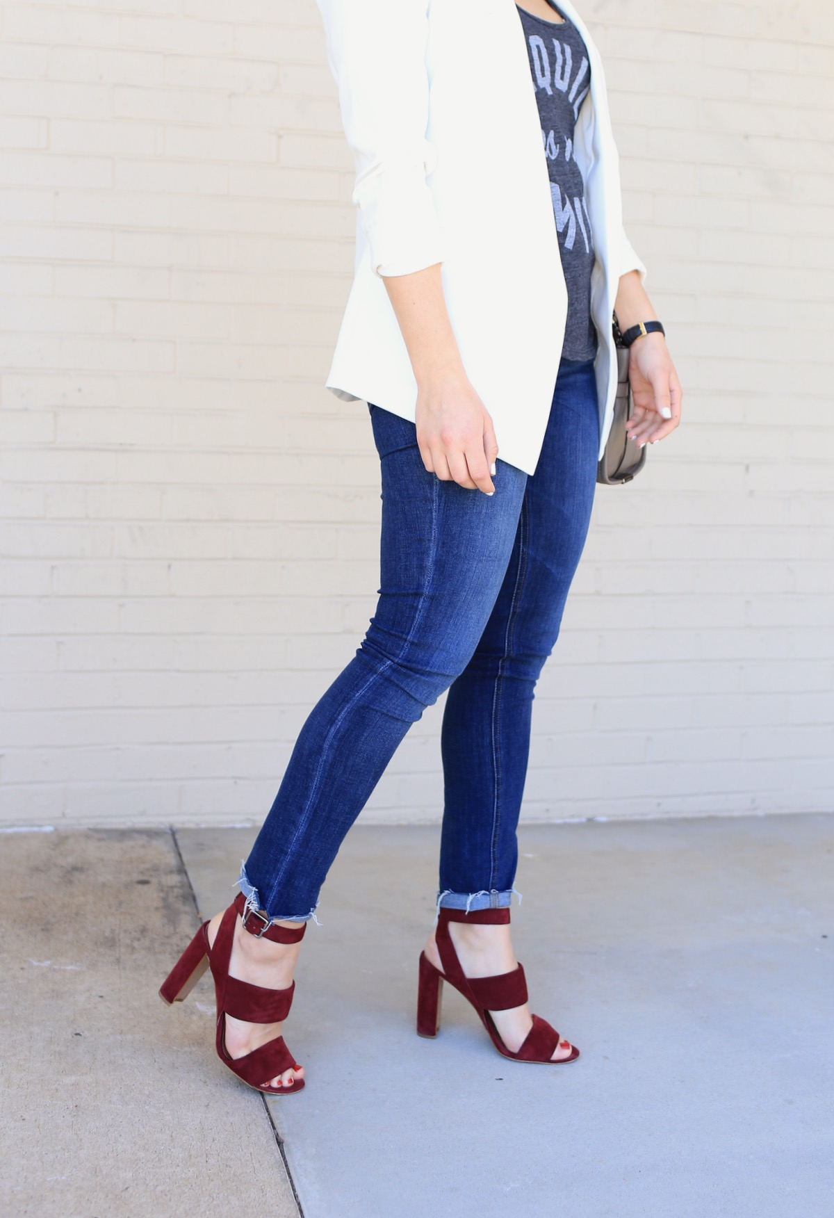 madewell sandals and jeans @mystylevita - 1