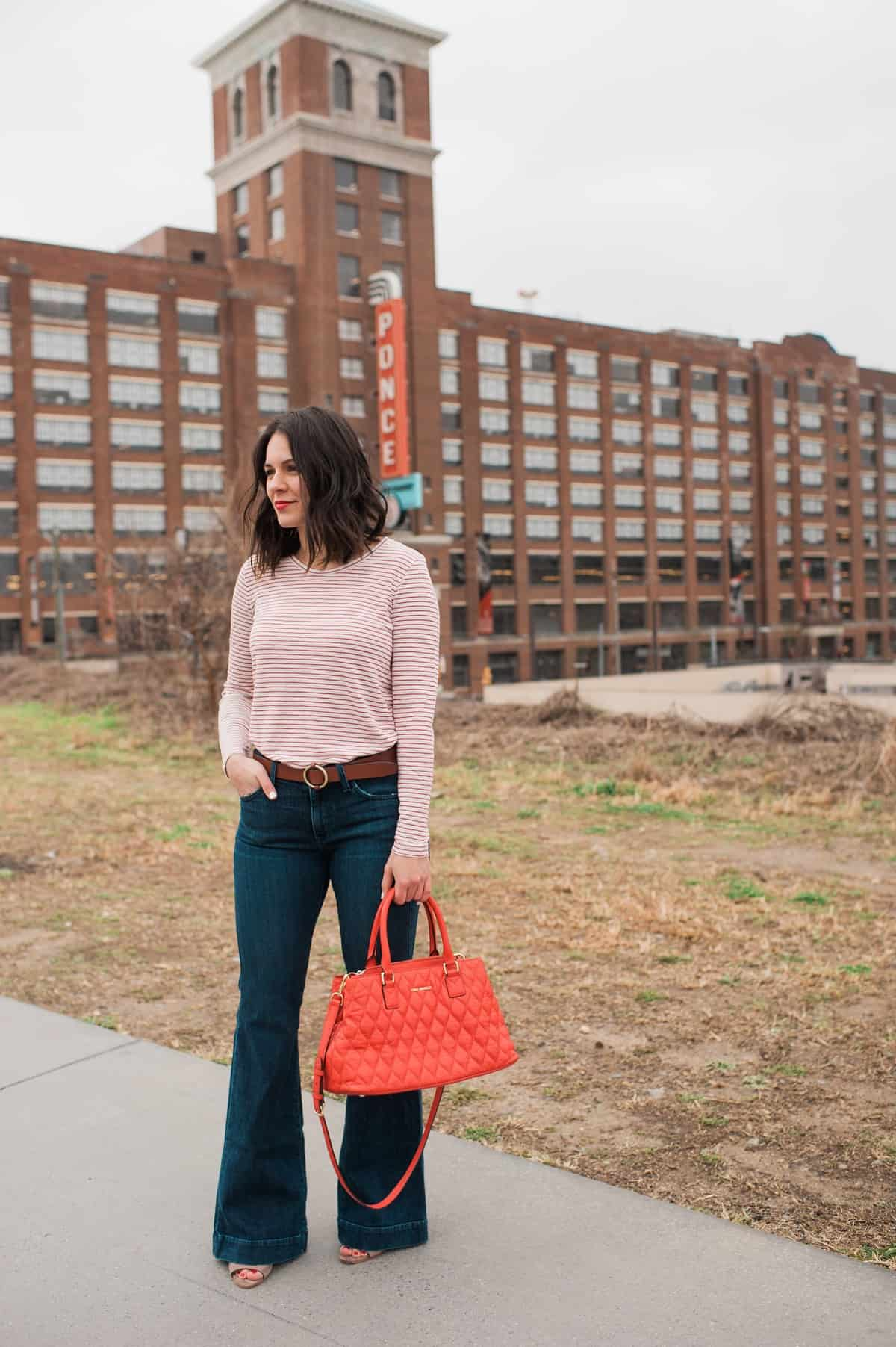 madewell striped tee and wideleg jeans - fashion blog - outfit - @mystylevita - 30