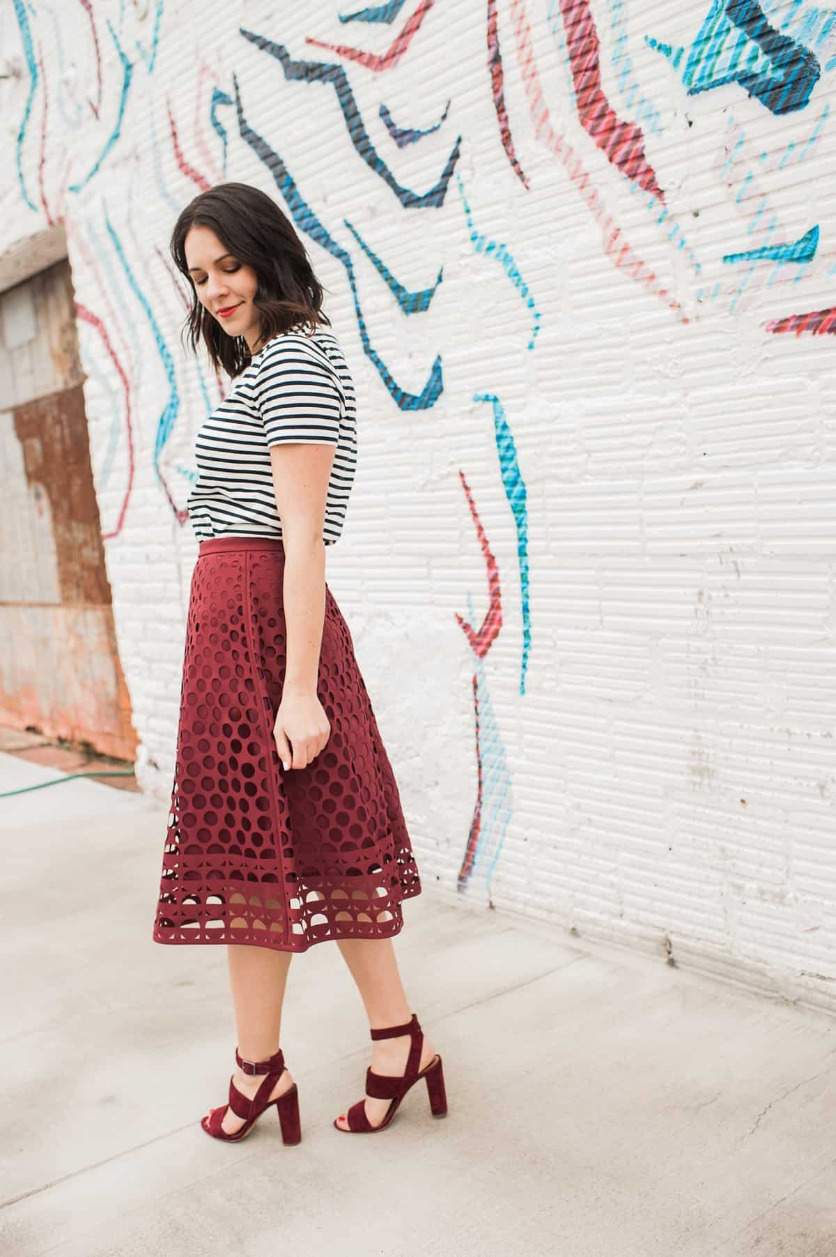 styling a midi skirt for summer my style vita