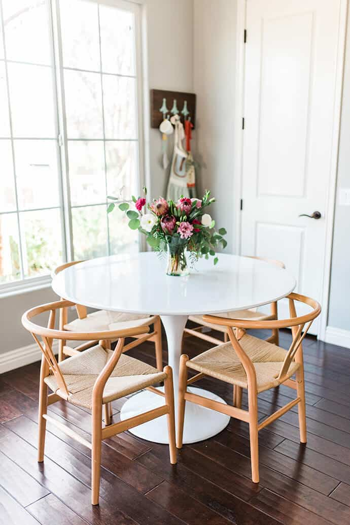 the best house inspiration with the wishbone chair my style vita