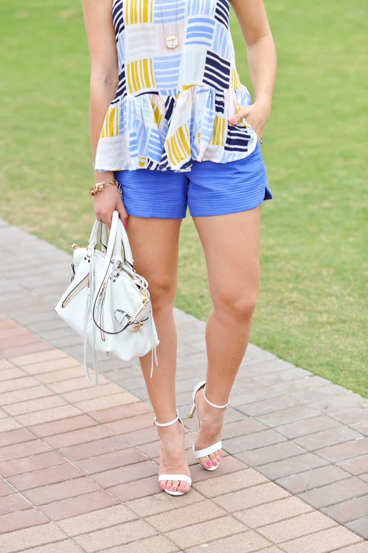 Old Navy printed peplum tank - summer outfit ideas - My Style Vita - @mystylevita - 16