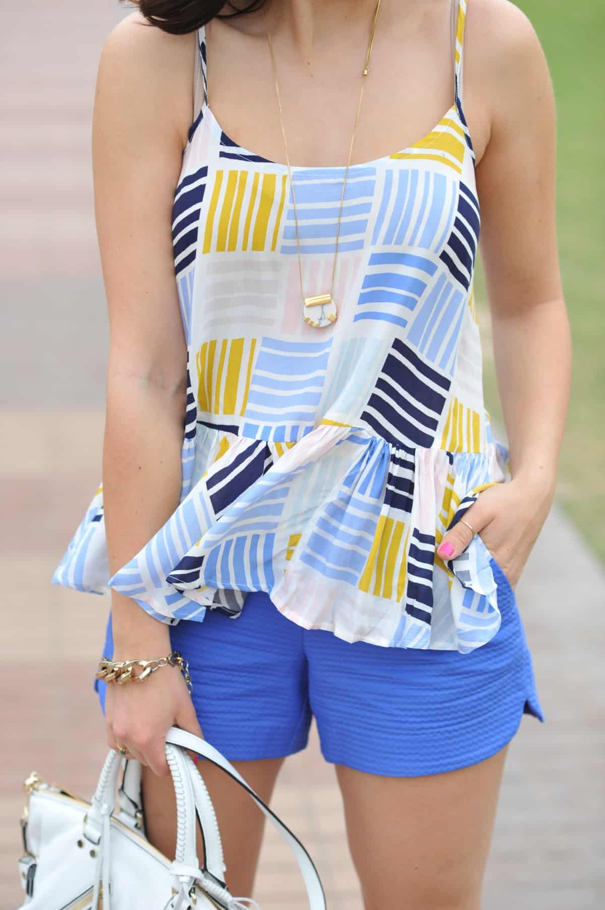 Old Navy printed peplum tank - summer outfit ideas - My Style Vita - @mystylevita - 19