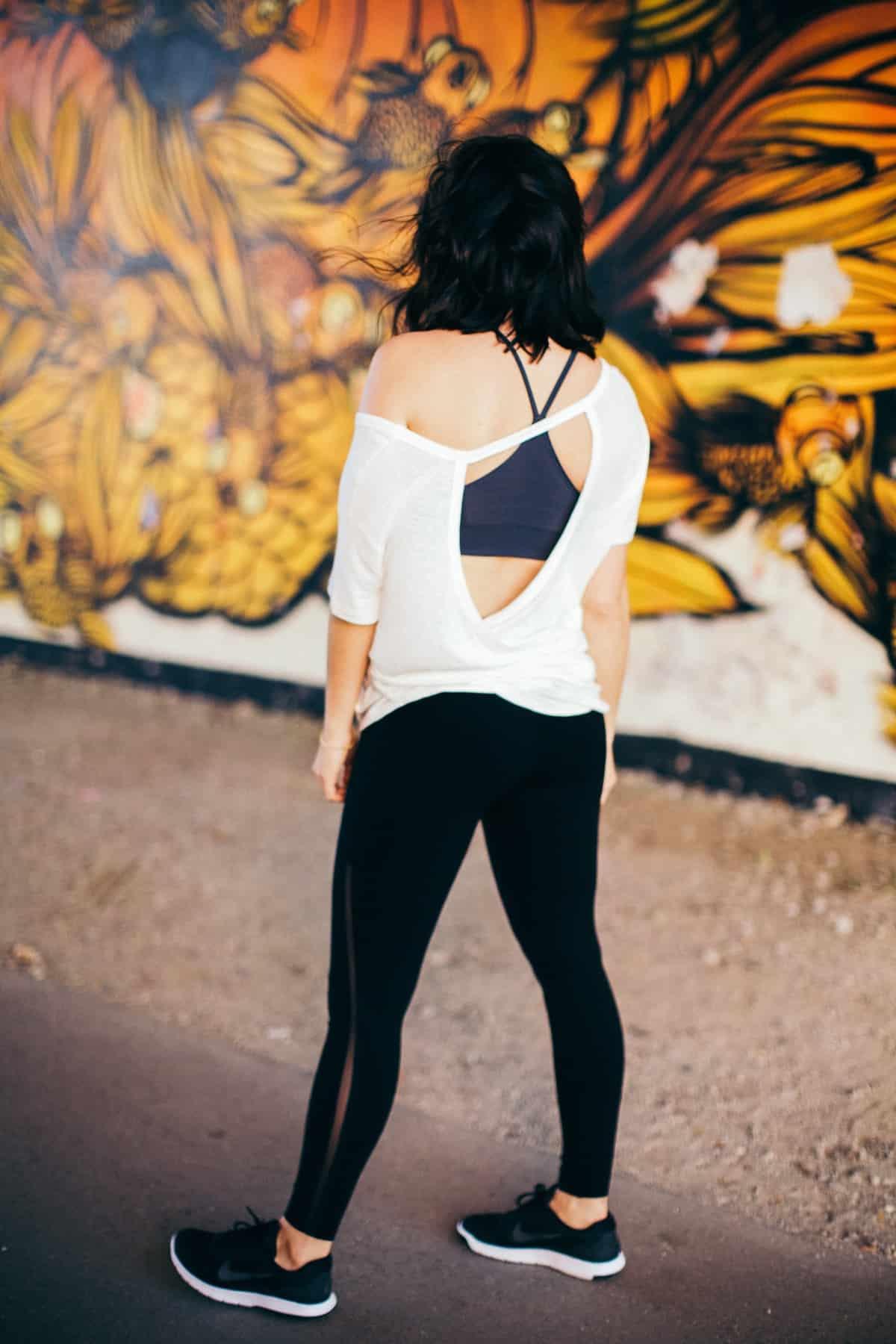a18eb64f68 ... Spanx workout leggings, lounge outfit ideas - My Style Vita  @mystylevita - 8 ...