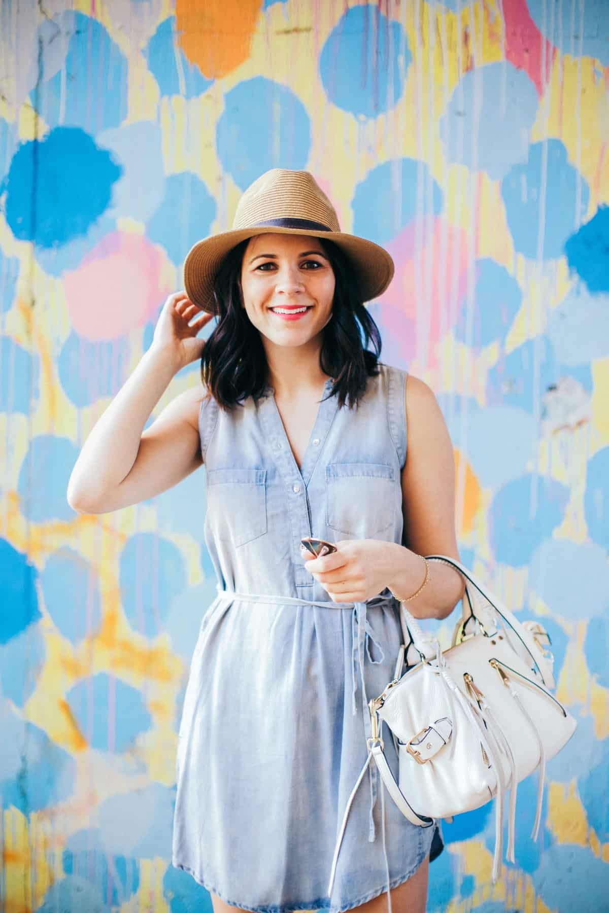chambray shirt dress and espadrilles, best espadrilles for summer - My Style Vita - @mystylevita - 12