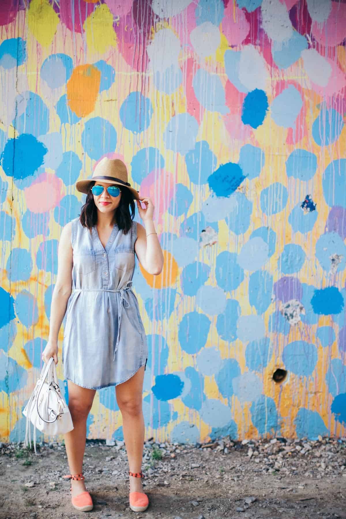 chambray shirt dress and espadrilles, best espadrilles for summer - My Style Vita - @mystylevita - 9