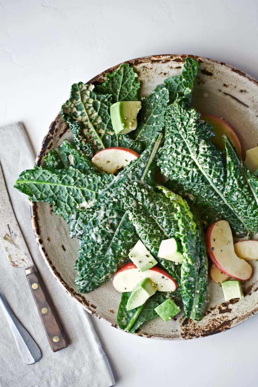 Kale Caesar Salad   easy summer recipes