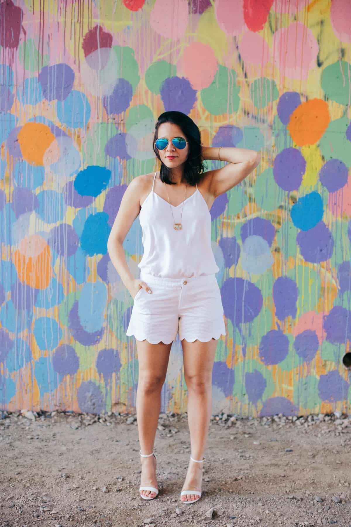 All white outfit for summer - My Style Vita - @mystylevita - 1