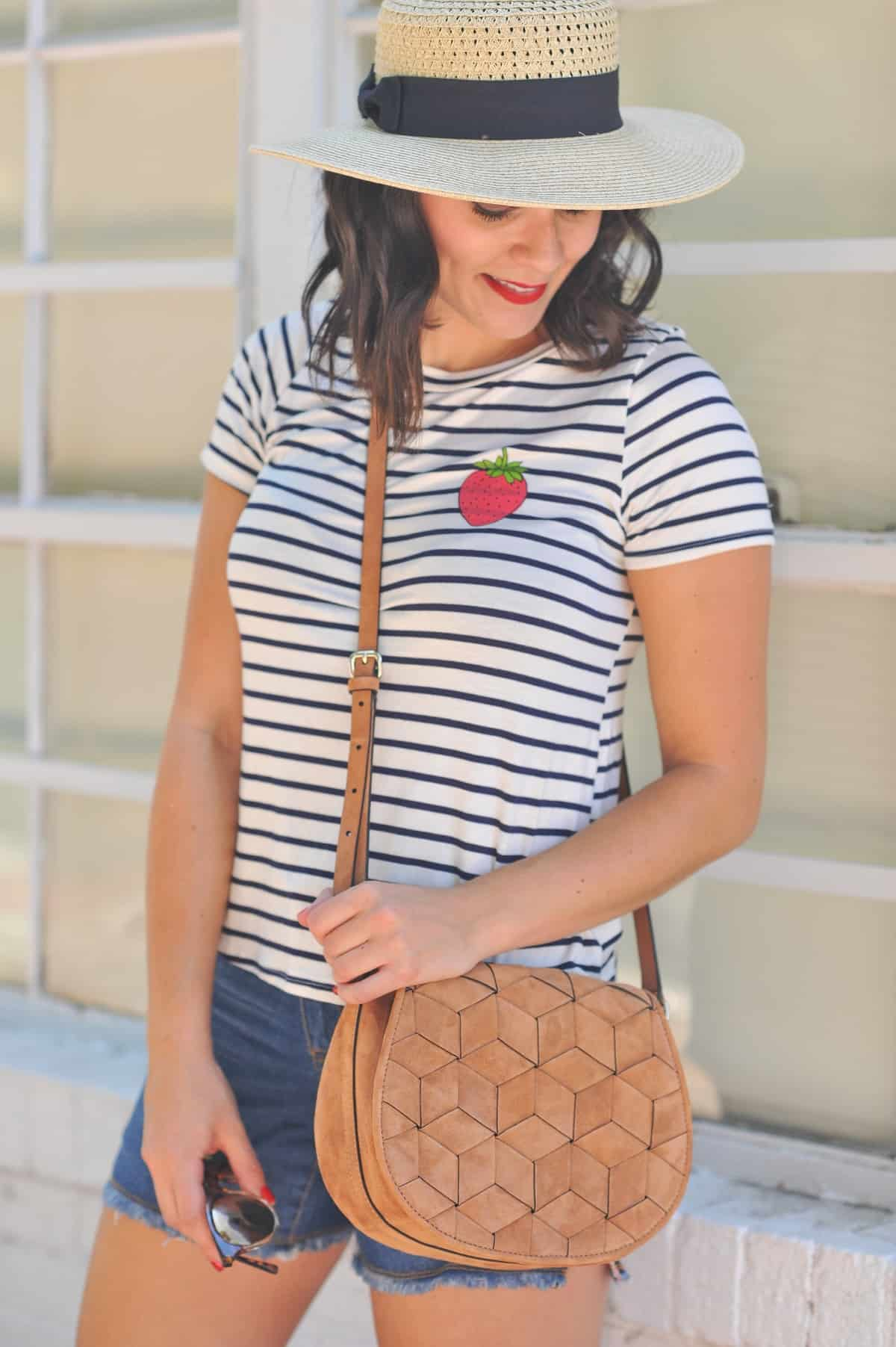 4th of july outfit ideas, striped tee outfits - @mystylevita - 9