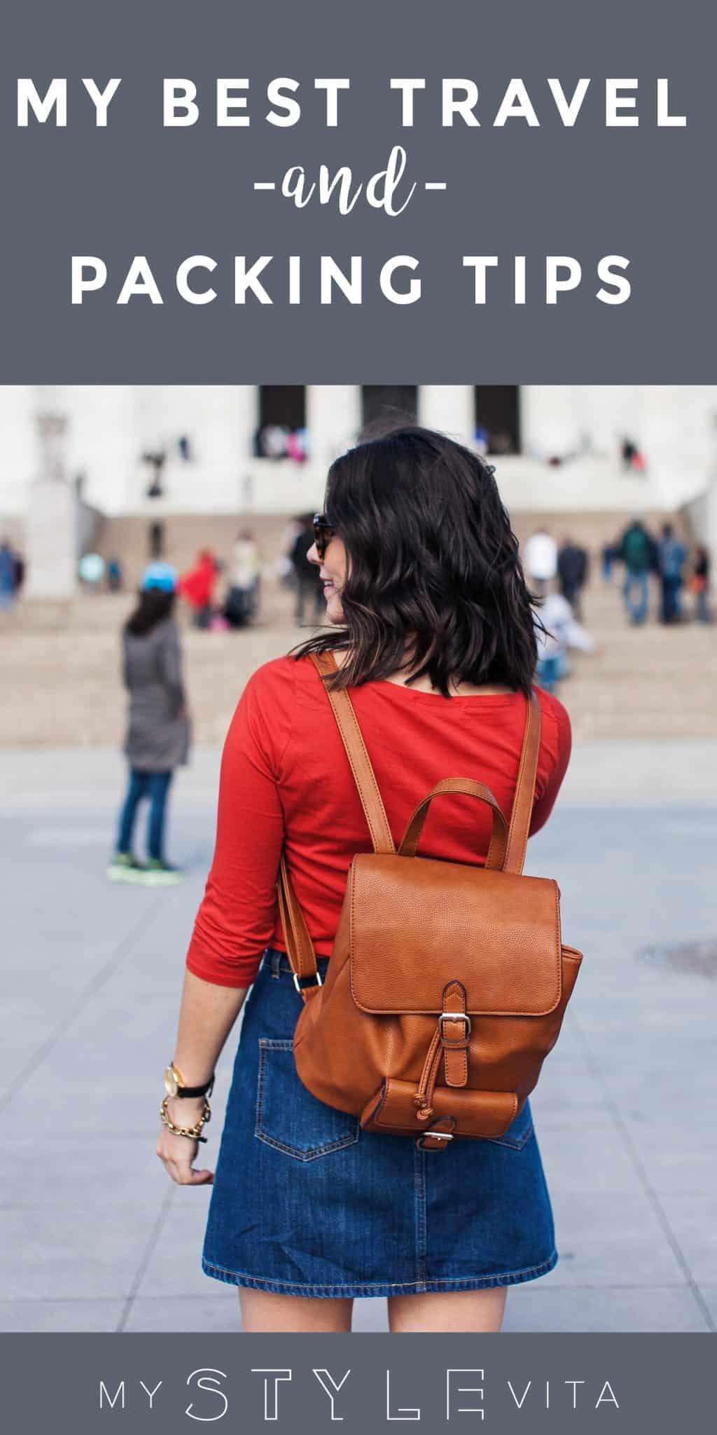 Best travel tips for staying sane and stylish - My Style Vita @mystylevita
