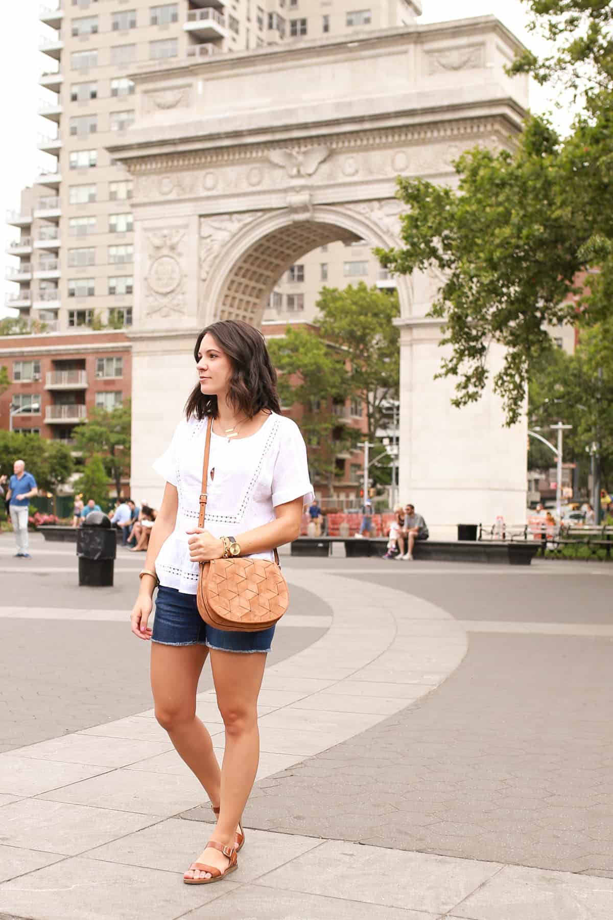 Casual Summer Outfit For a NYC Stroll | My Style Vita