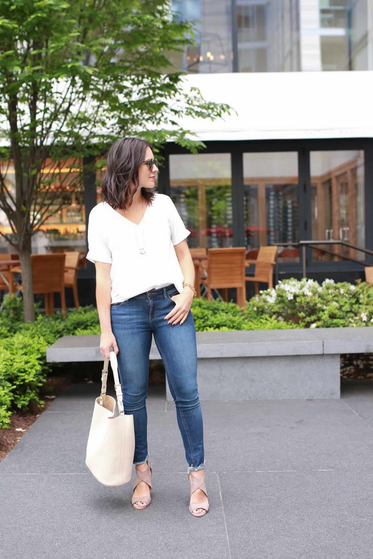 Cooper and Ella Blouse - Travel outfit ideas - Fig and Olive Brunch - My Style Vita @mystylevita