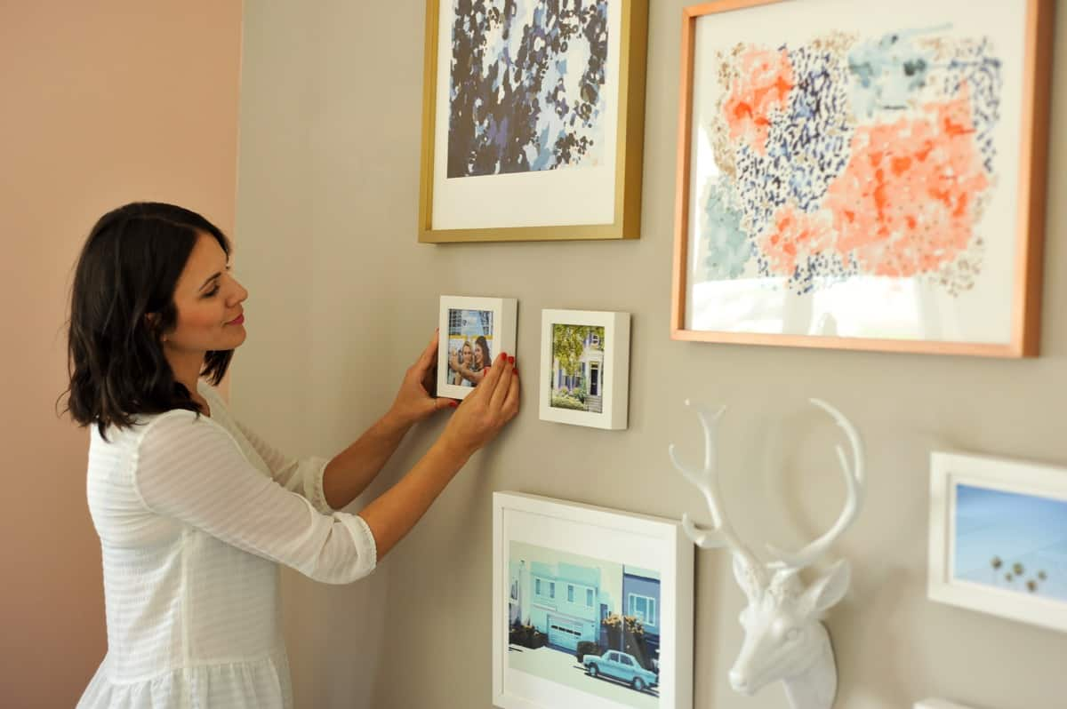 How to hang a gallery wall properly, tips to creating a gallery wall - My Style Vita - @mystylevita - 10