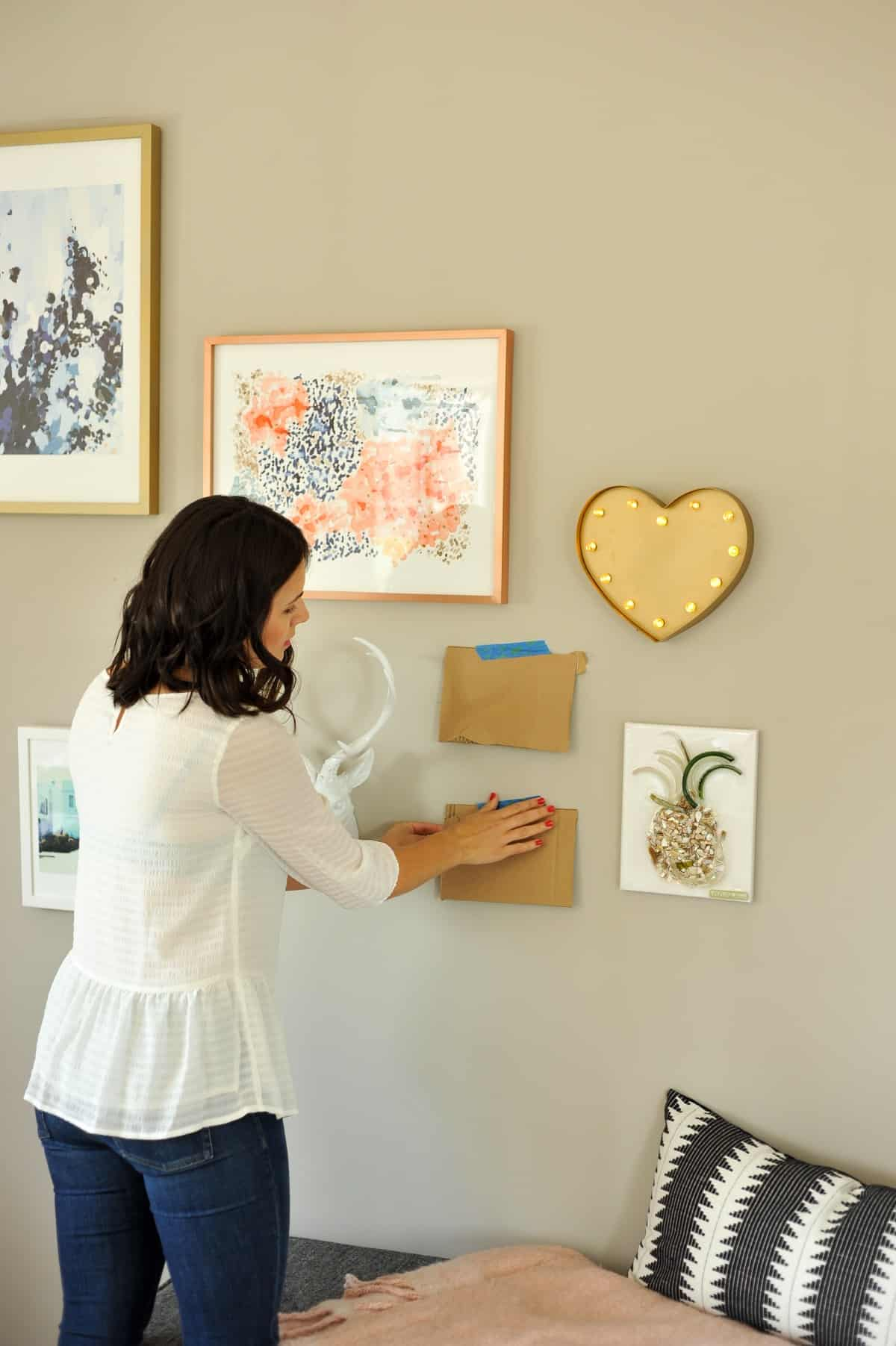 How to hang a gallery wall properly, tips to creating a gallery wall - My Style Vita - @mystylevita - 4