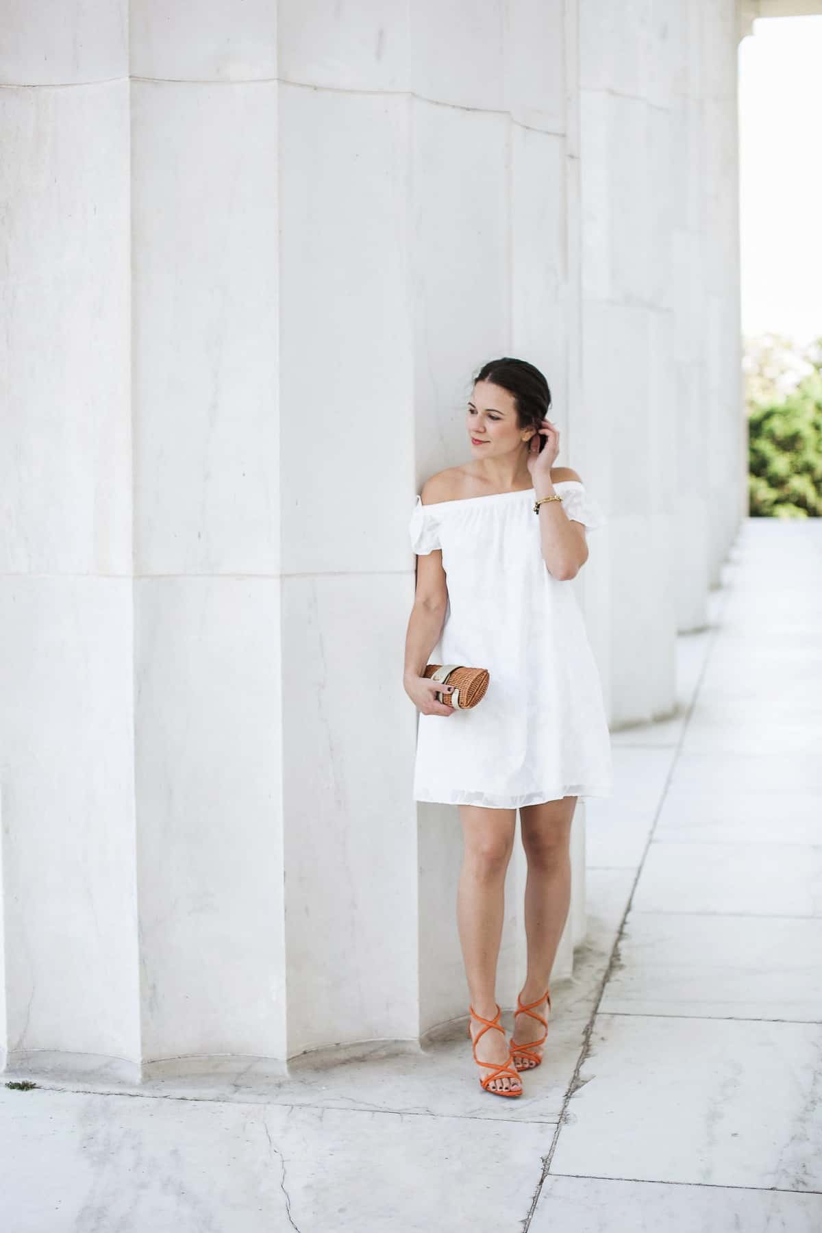 off the shoulder dress ideas