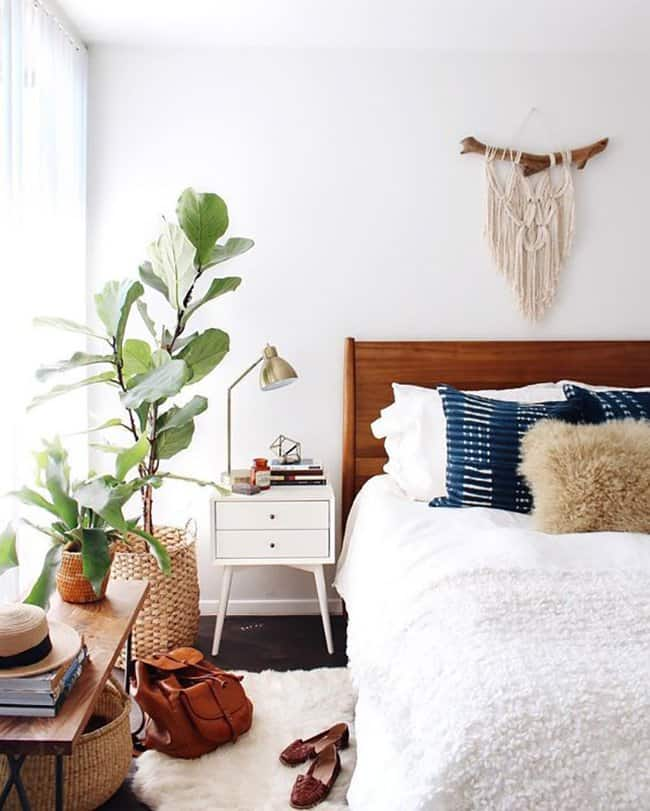 The best boho home decor ideas my style vita for Bohemian style bedroom furniture