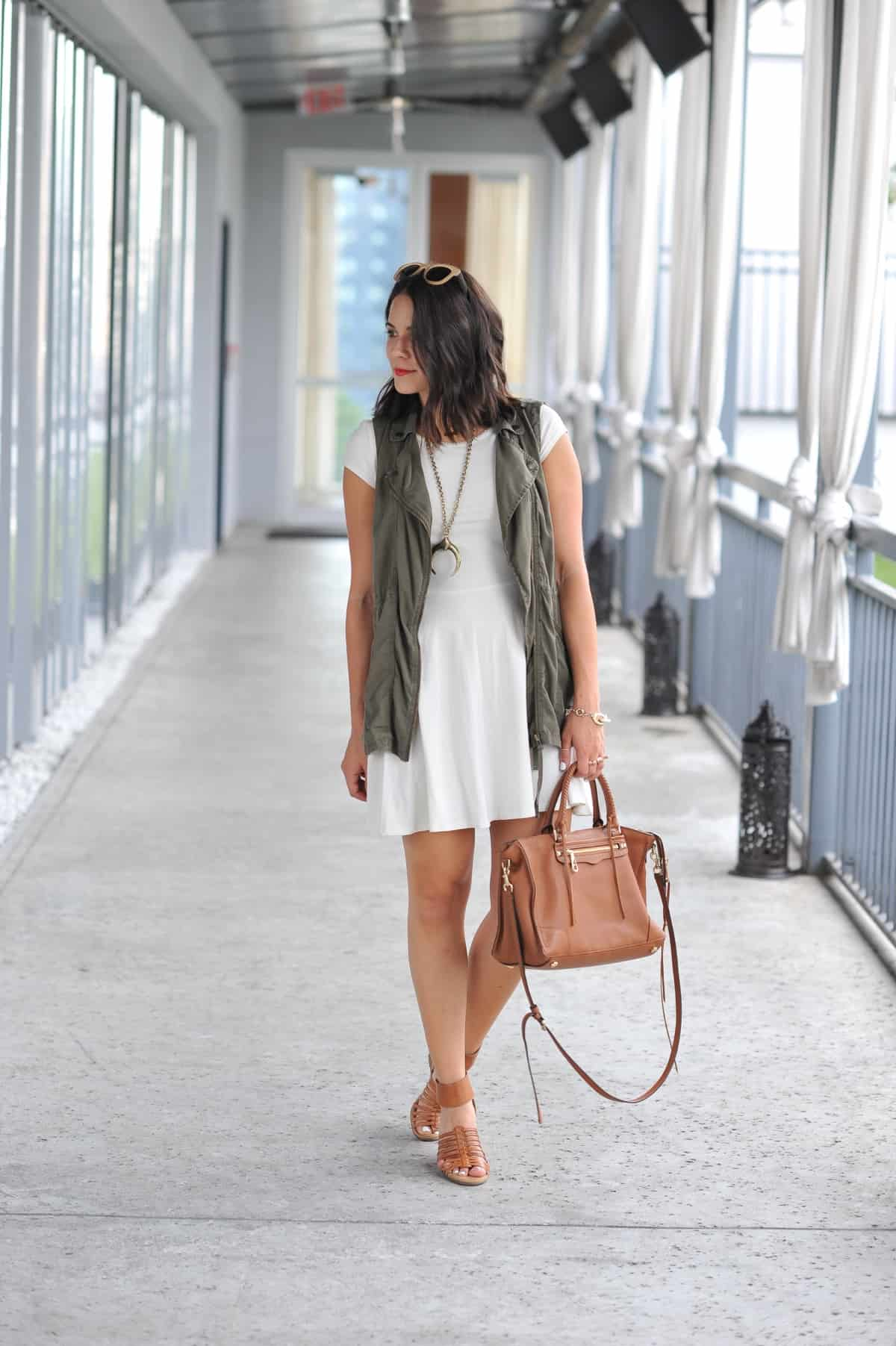 how to style a vest for summer - My Style Vita @mystylevita - 10