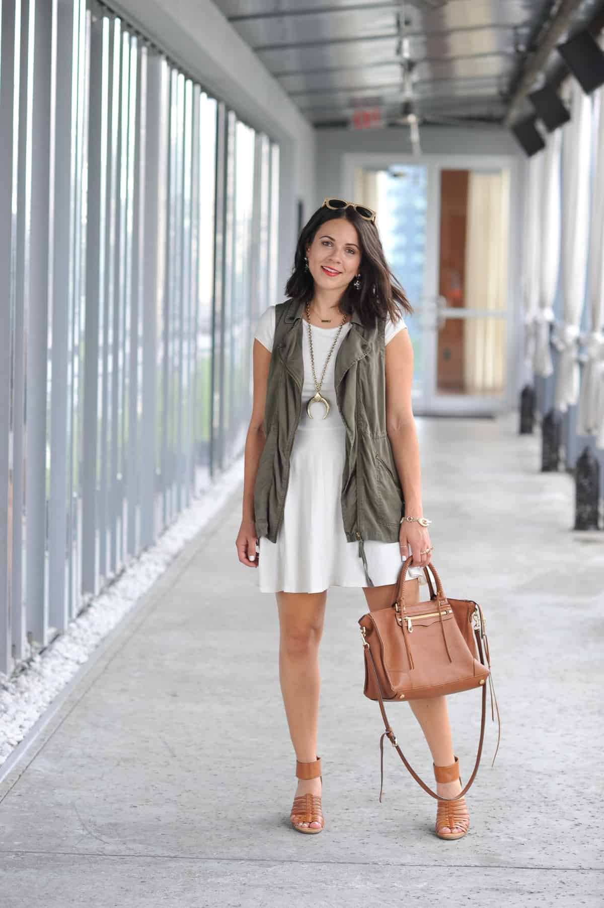 how to style a vest for summer - My Style Vita @mystylevita - 11