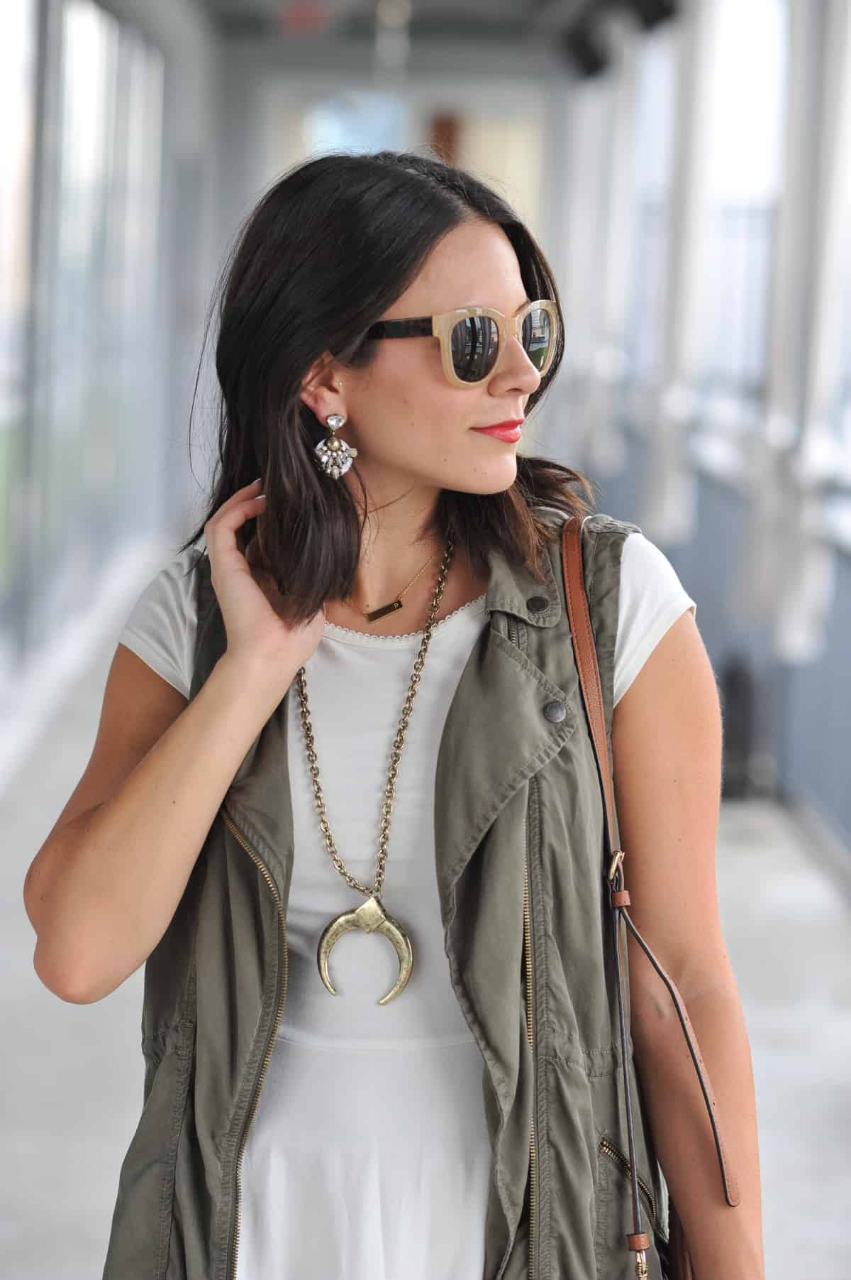how to style a vest for summer - My Style Vita @mystylevita - 16