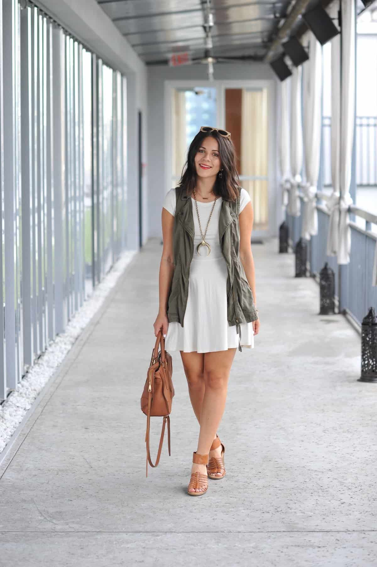 how to style a vest for summer - My Style Vita @mystylevita - 2