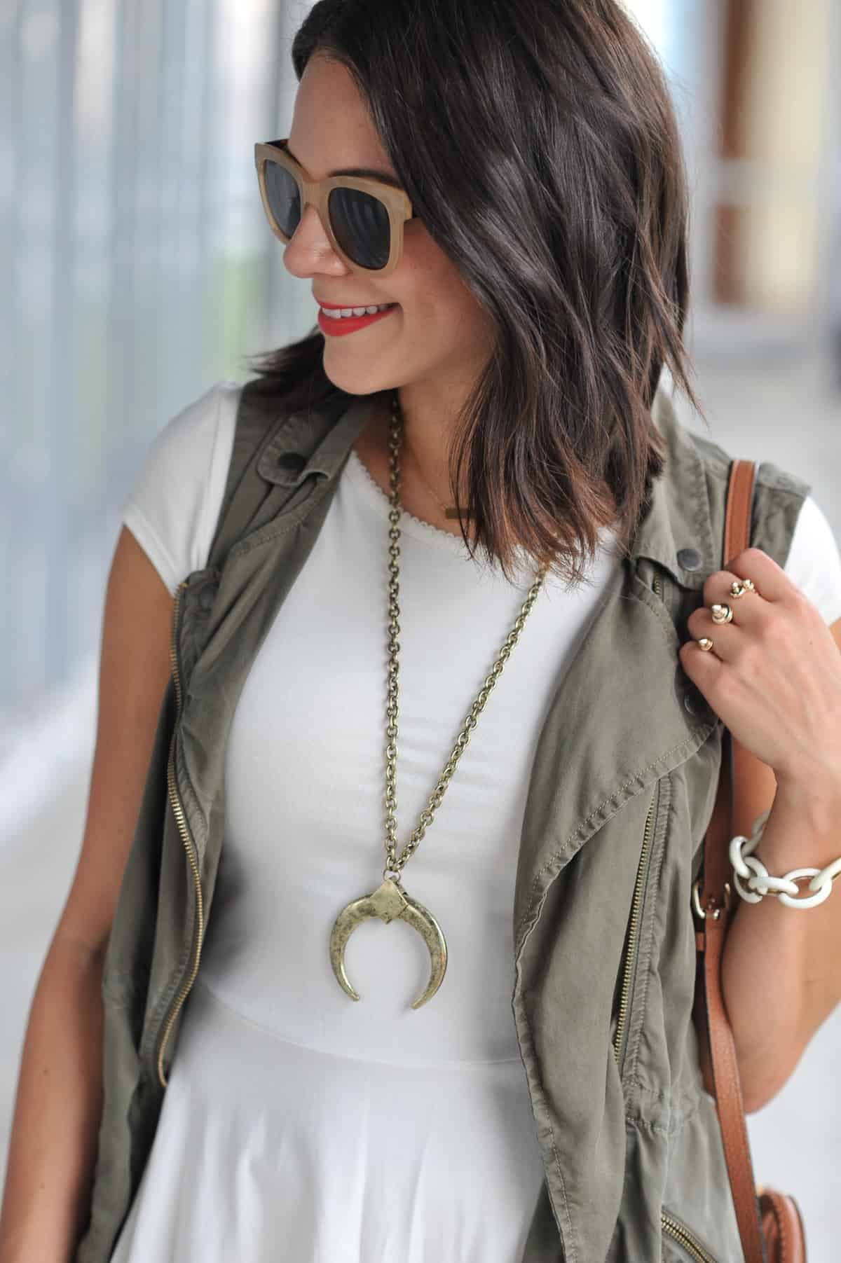 how to style a vest for summer - My Style Vita @mystylevita - 27