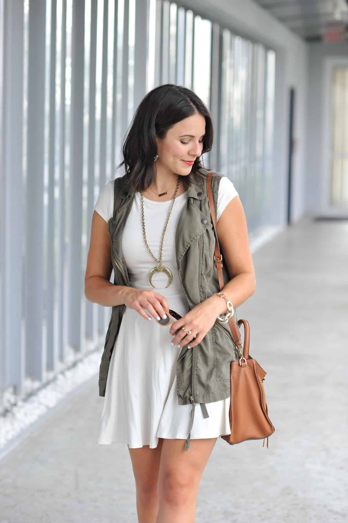 how to style a vest for summer - My Style Vita @mystylevita - 29