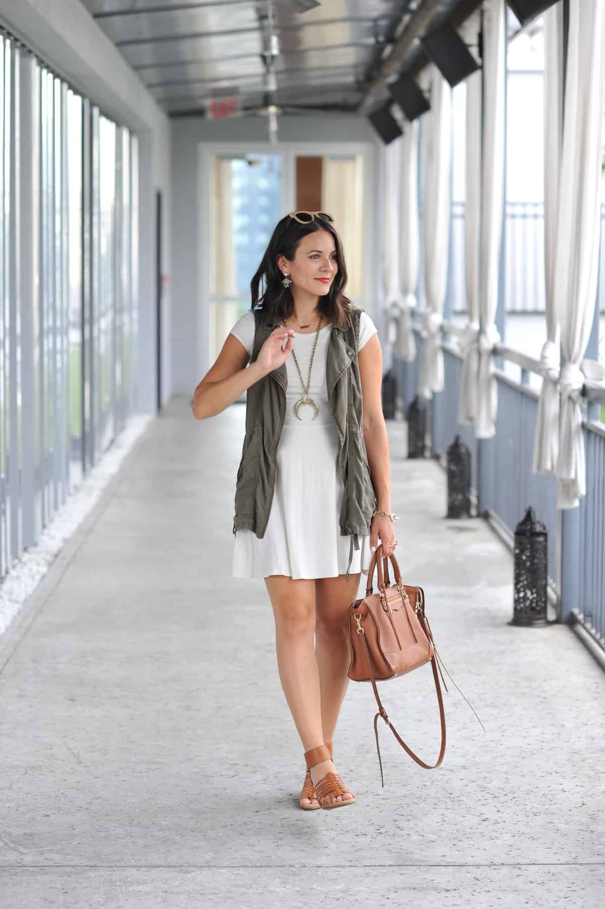 how to style a vest for summer - My Style Vita @mystylevita - 7