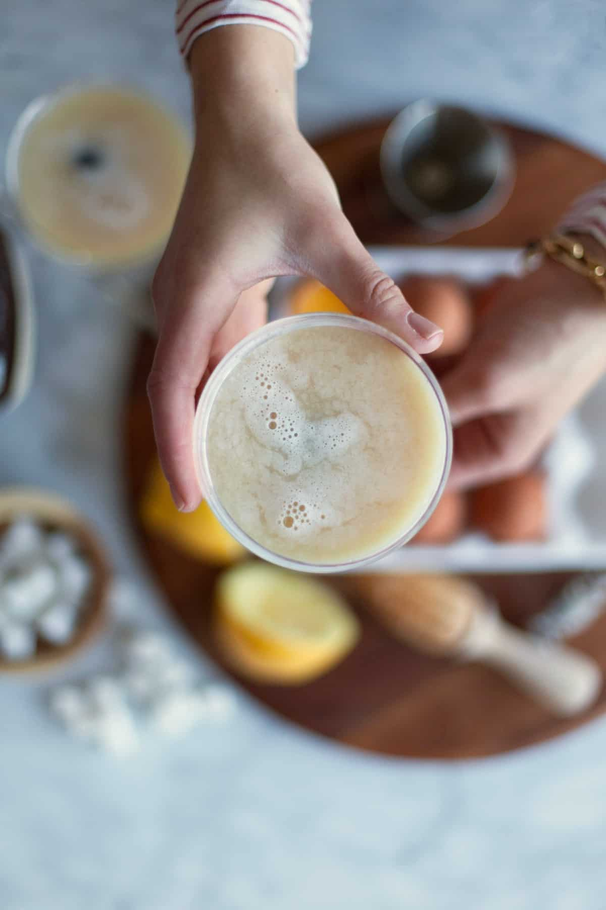 whiskey sour cocktail recipe - My Style Vita @mystylevita