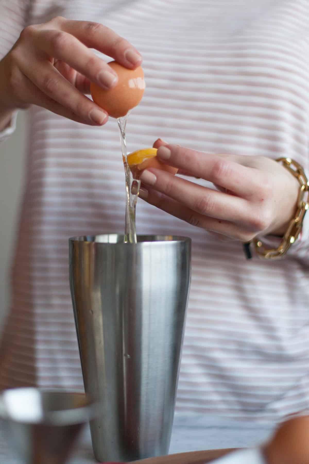 whiskey sour cocktail recipe - My Style Vita @mystylevita