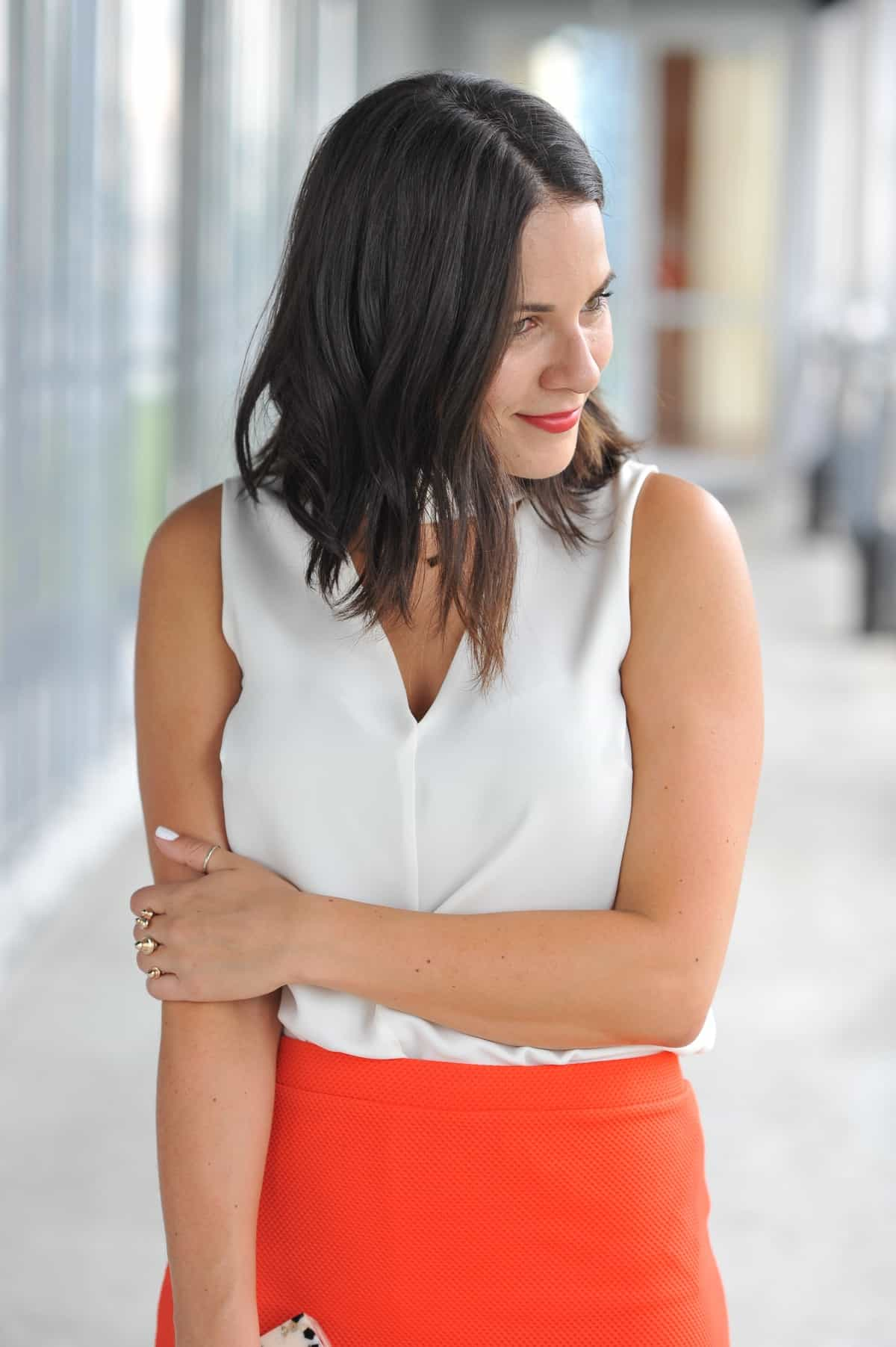 ASOS peplum hem mini skirt- date night outfit ideas - My Style Vita @mystylevita