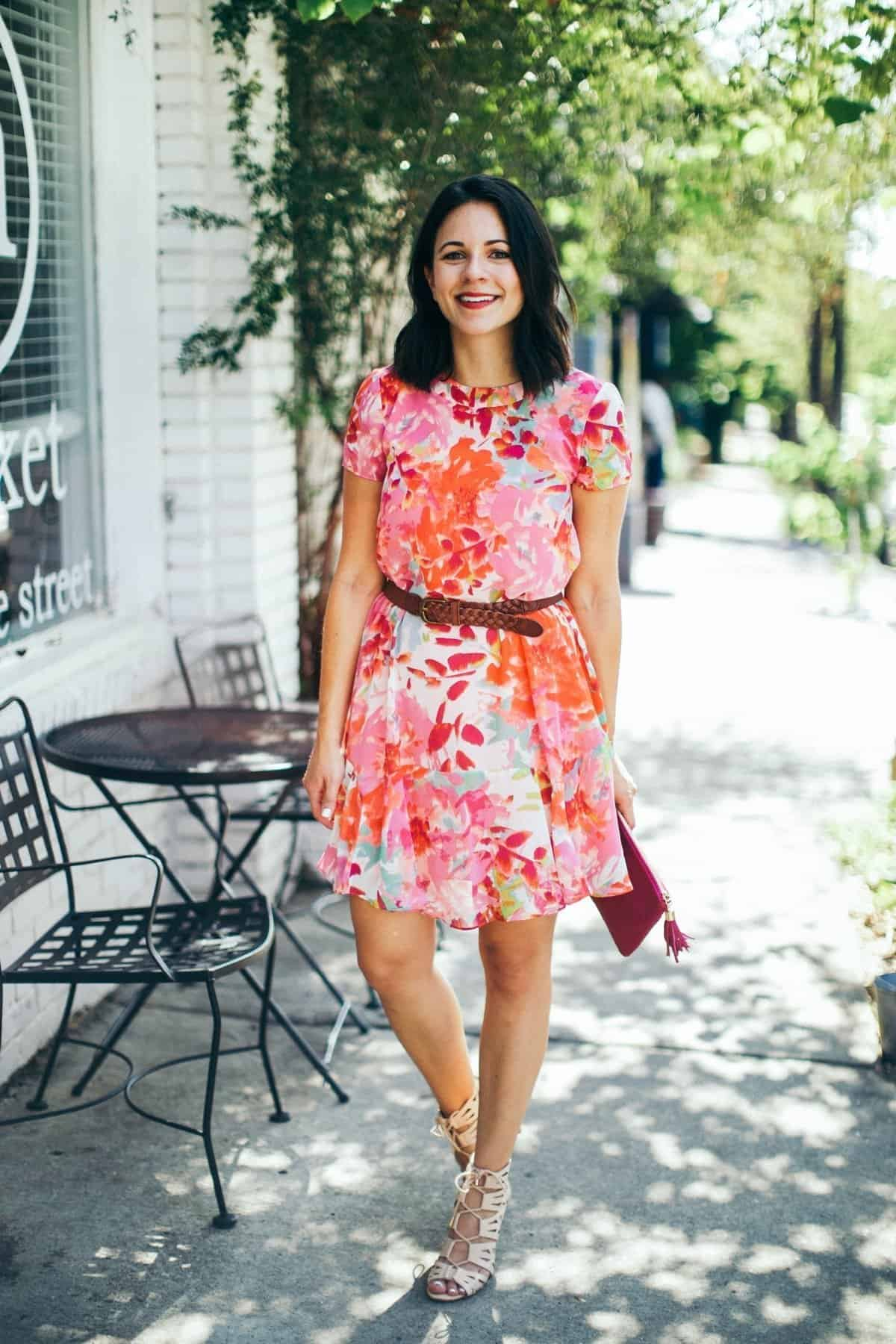 Eliza J floral printed summer dress - summer dress outfit ideas - My Style Vita @mystylevita - 8