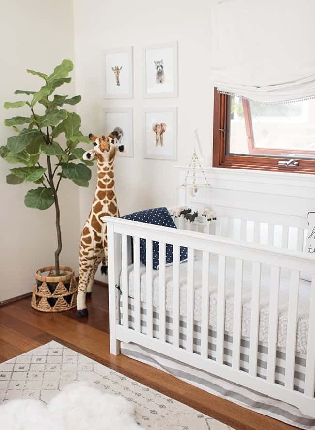 clean and fresh nursery ideas, bohemian nursery ideas